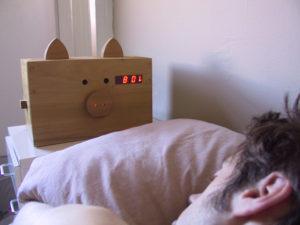 Wake n' Bacon alarm clock 1