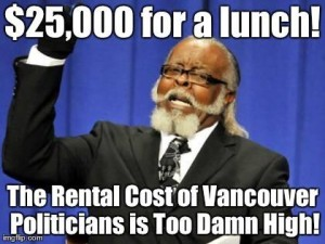 The Rental Cost Of Vancouver Politicians Is