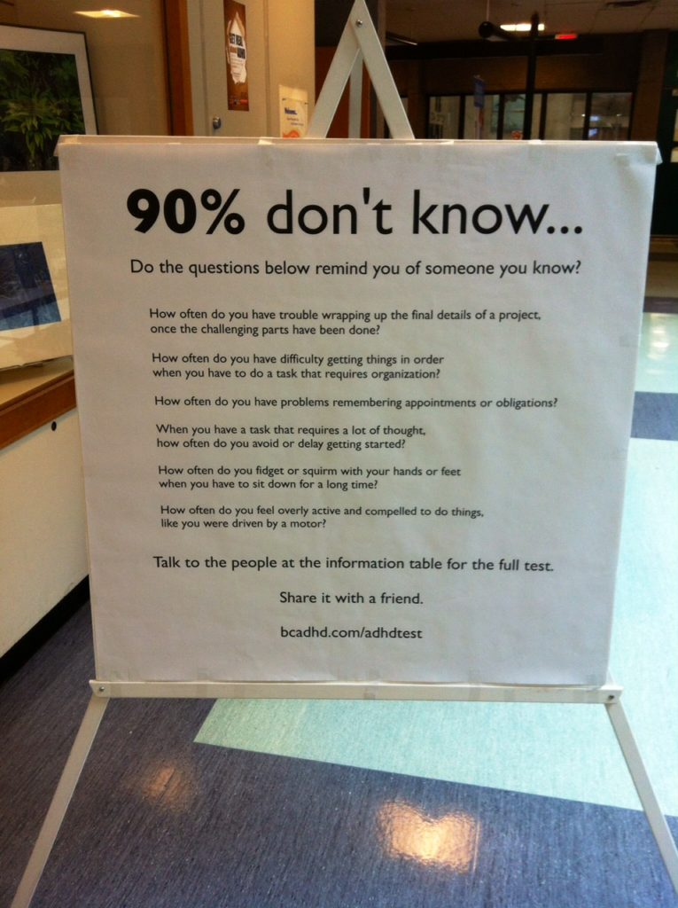 90 percent don't know sign west end community Center