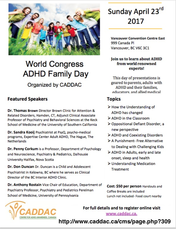ADD / ADHD Conferences and Workshops Archives - Adult ADD